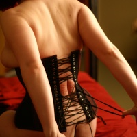 Corsets laced tight